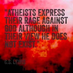 Lewis Quotes Against Atheists