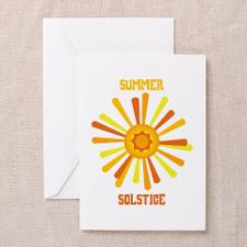 Summer Solstice Greeting Cards for
