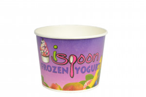 Custom Print Frozen Yogurt Cups 1000 Count FREE SHIPPING