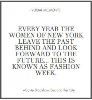 QUOTES: from Carrie Bradshaw!
