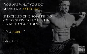 Generation Iron Greg Plitt Quote
