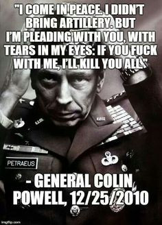 general colin powell's rules