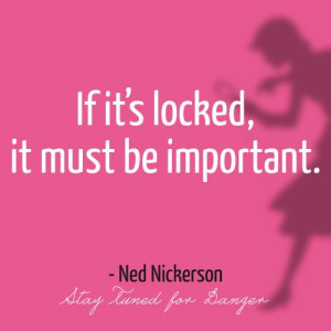Nancy Drew Quotes- Ned Nickerson