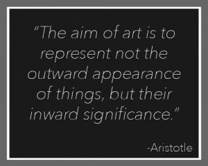 Aristotle's Quotes On Art