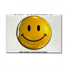 No Idea What's Going On Funny Smiley Face Happy Re for
