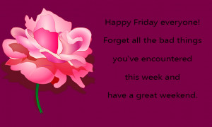 Happy Friday everyone! Have a great weekend :: Friday :: MyNiceProfile ...