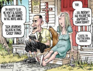 Jokes about polygamy and funny long underwear aside, Mitt Romney's ...
