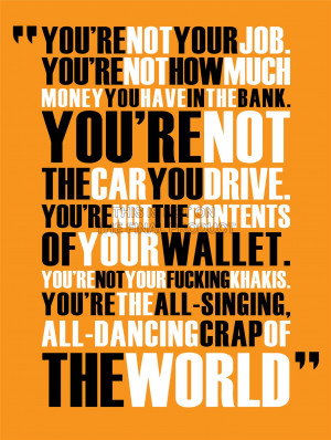... -CLUB-ALL-SINGING-DANCING-CRAP-WORLD-QUOTE-MOTIVATION-POSTER-QU238B