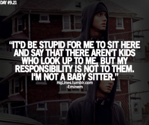 eminem, hqlines, quotes, sayings, swag