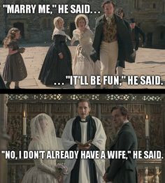... Richard Mason proving Rochester is married to Bertha. Mr. Mason