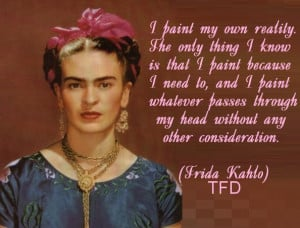 Frida Kahlo de Rivera (July 6, 1907- July 13, 1954 ) was a Mexican ...