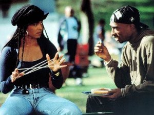 Tupac played in the movie Poetic Justice along with Janet Jackson