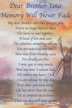 Missing My Brother in Heaven Quotes | I Miss You Brother More