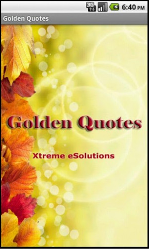 Golden Quotes For Android