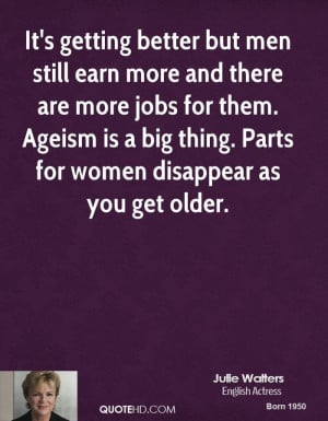 It's getting better but men still earn more and there are more jobs ...