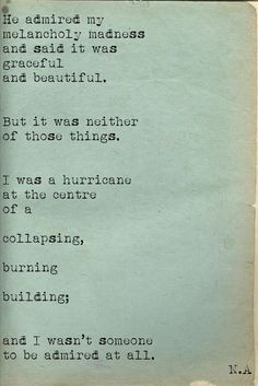 Melancholy Madness: This poem came up in my search and I thought it ...