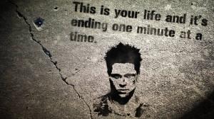 Tyler Durden quote wallpaper