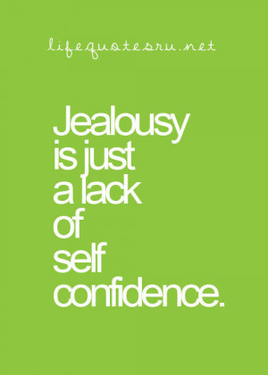 insecurity jealousy quotes