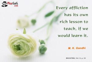 Mahatma Gandhi Quote On Education