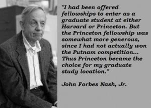 John forbes nash jr famous quotes 3