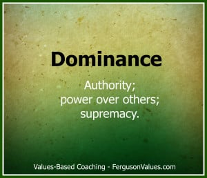 How can the value of dominance help you create competitive advantage?