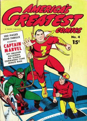 Captain Marvel Shazam Movie