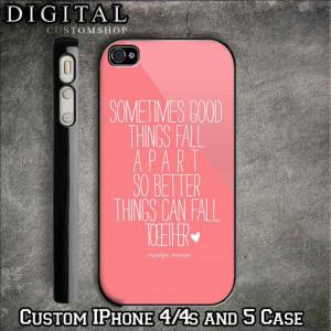 iPhone 5S Phone Cases Quotes