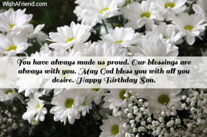 Birthday Quotes For Son Turning 14 ~ Son Birthday Messages