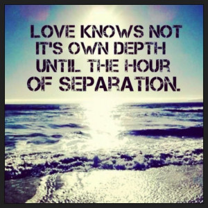 ... the hour of separation. military, navy love quote. deployment, milso