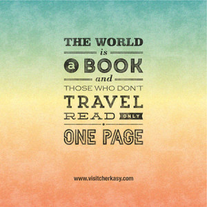 Typography-Based Quotes About Traveling And Life