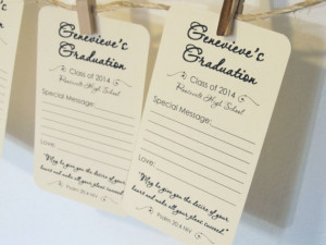 ... Cards Tags for Graduation Party with Religious Bible Psalm 20:4 Quote