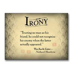 Irony Quotes