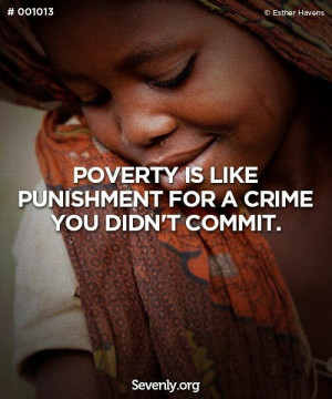 Some Inspirational Quotes On Huger And Poverty – Part 1