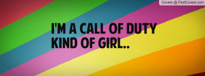 Call Of Duty kind of girl Profile Facebook Covers