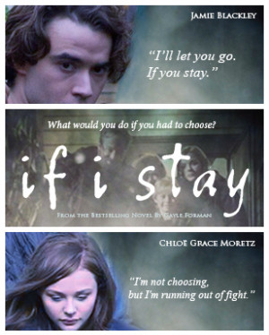 denisewy:If I Stay fan art movie poster :'> Will keep on making one ...