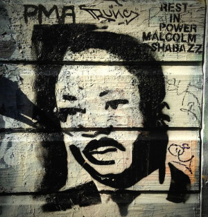 MLK #streetart from a blog post penned by Jamaica Kincaid on the # ...
