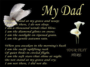 Father Memorial Quotes Pic #25