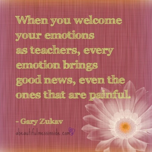 Gary Zukav Quote