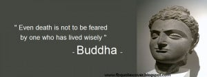 Buddhist Quotes About Death