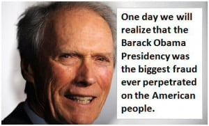 Clint Eastwood on Obama
