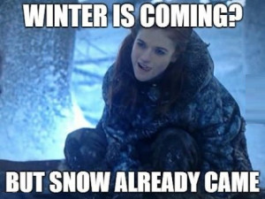 funny pictures game of thrones winter is coming1 wanna joke.com