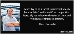 More Linus Torvalds Quotes