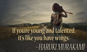 YOUNG TALENT QUOTES