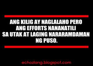 Love Quotes Kilig Tagalog English
