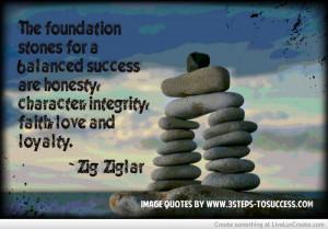 Foundation Stones Quote By Zig Ziglar