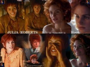 Hook Tinkerbell-Julia Roberts