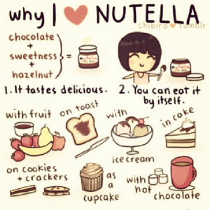 chocolate, coffe, cupcakes, i love, i want, nutella, why