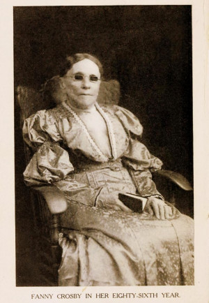 Fanny Crosby , de blinde poëet en Amerika's