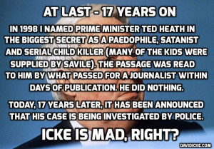 ... follow up allegations of child sexual abuse against Sir Edward Heath