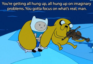 collection of inspiring quotes from Adventure Time